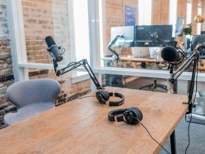 Podcast uitzending